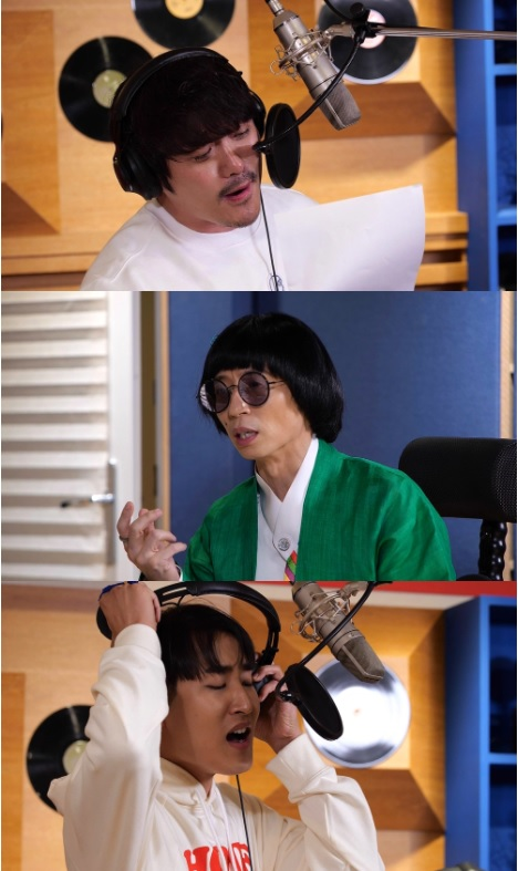 MSG워너비가 오는 26일 데뷔곡 음원 공개를 앞두고 본격적인 녹음에 돌입했다. /사진=MBC