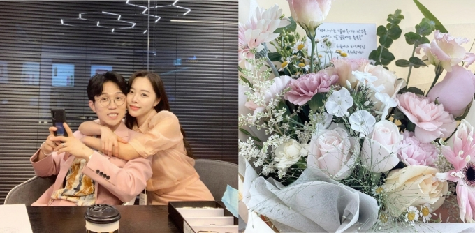 박성광 아내 이솔이가 인스타그램에 자신의 근황을 공개했다. /사진=이솔이 인스타그램