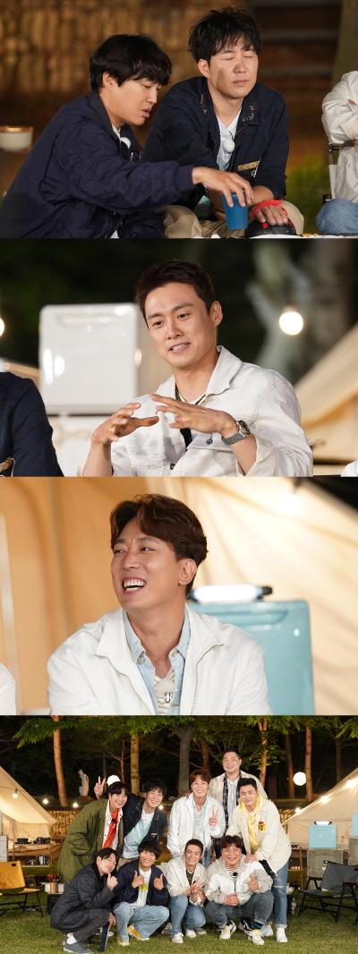 아나운서 출신 방송인 도경완, 오상진, 김환이 예능프로그램에 출연해 입담을 뽐낸다. /사진=MBN 전국방방쿡쿡