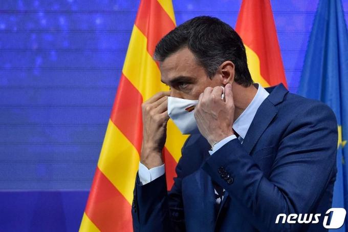 스페인의 페드로 산체스 총리 © AFP=뉴스1