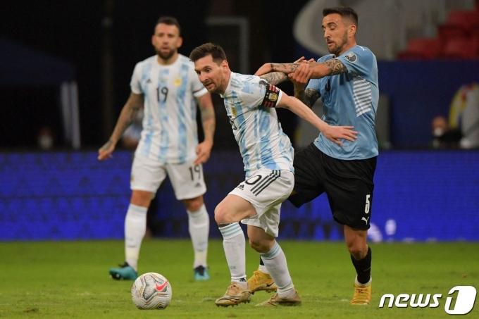 아르헨티나의 리오넬 메시 © AFP=뉴스1