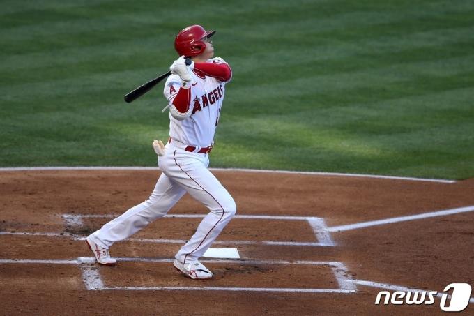 LA 에인절스 일본인 선수 오타니 쇼헤이. © AFP=뉴스1