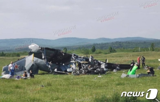 19일 시베리아 남서부 케메보로주에서 비행기가 추락해 7명이 숨지고 13명이 다쳤다. <출처=러시아투데이>