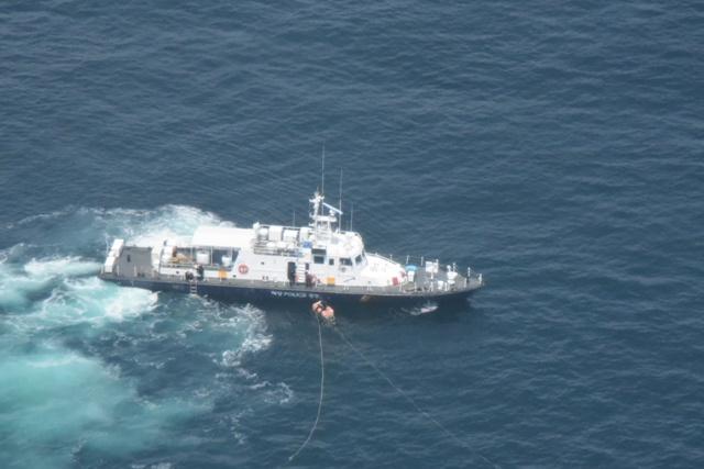 전북 군산시 옥도면 직도 인근 바다에서 실종됐던 스쿠버 다이버 A씨가 해경에 구조됐다. /사진=뉴스1(해경 제공)