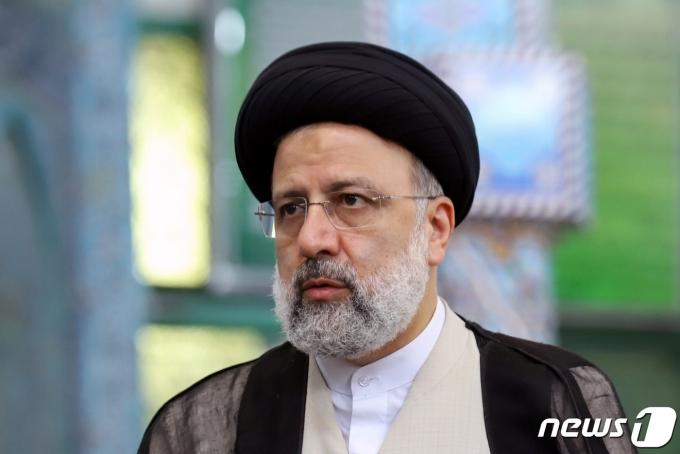 세예드 에브라힘 라이시 이란 대통령선거 후보. © 로이터=뉴스1