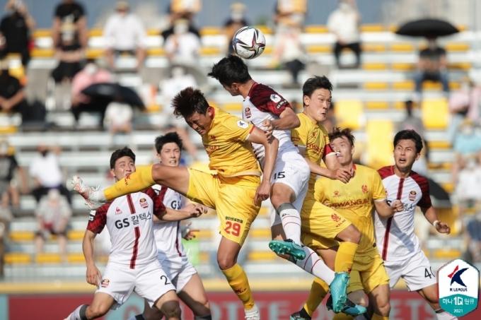 서울과 광주가 1-1로 비겼다.(한국프로축구연맹 제공)© 뉴스1