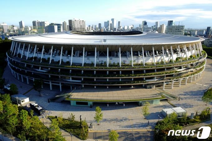 도쿄올림픽 주경기장 전경 © 로이터=뉴스1 © News1 정윤영 기자