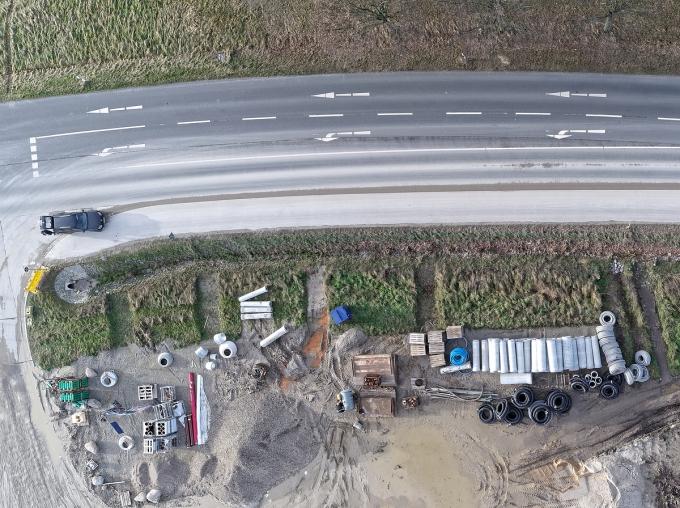 서울 송파구의 6차선 도로에서 도로함몰이 발생했으나 큰 피해 없이 복구됐다./사진=이미지투데이