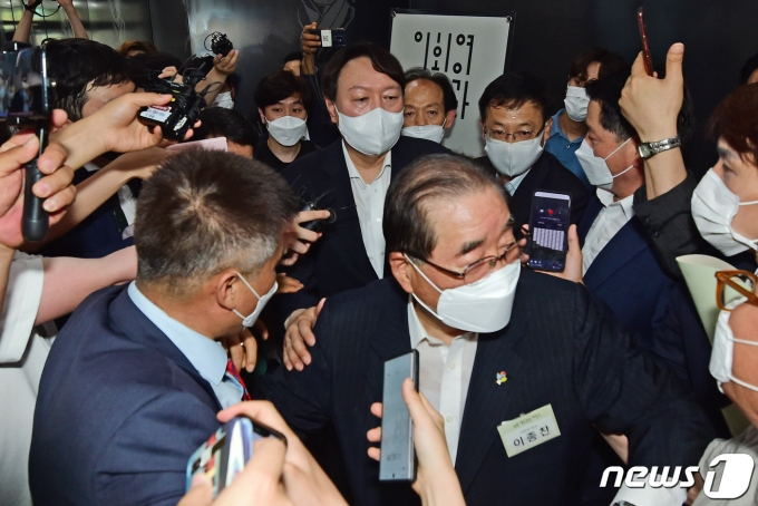 윤석열 전 검찰총장 2021.6.9/뉴스1 © News1 이동해 기자