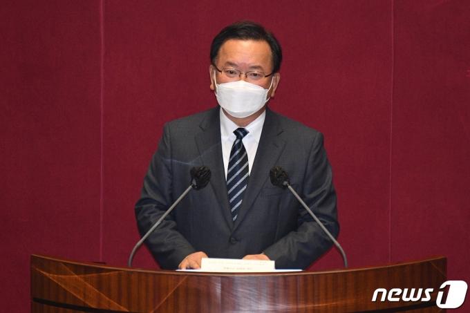 김부겸 국무총리. 2021.5.21/뉴스1 © News1 오대일 기자