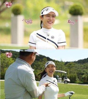 """""""못하는 게 뭐야?""""…'현빈♥' 손예진, 골프여신의 눈웃음"""
