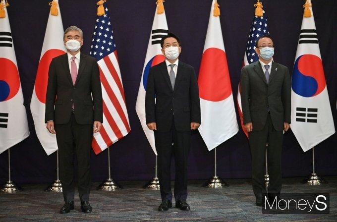 [머니S포토] 한미일 북핵 수석대표 협의