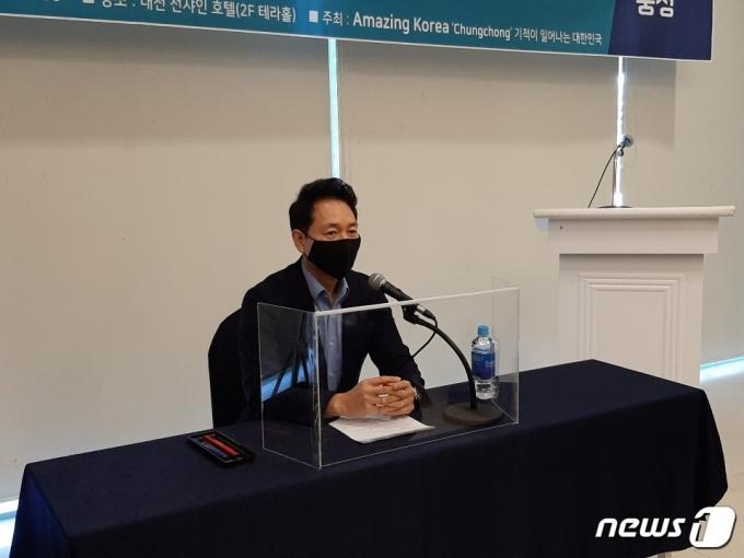 장성민 세계와동북아평화포럼 이사장. © 뉴스1
