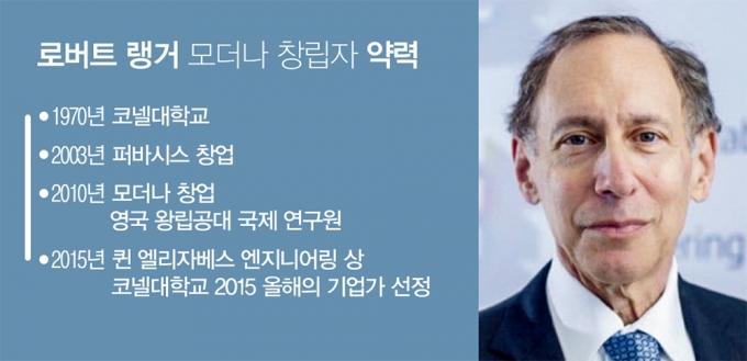 로버트 랭거 모더나 창업자 약력 /그래픽=김영찬 기자, 사진=과학역사연구소