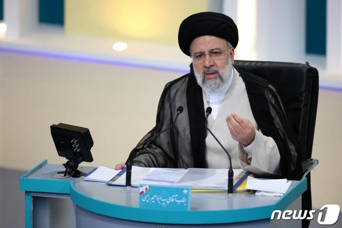 이란 세예드 에브라힘 라이시 대통령. © AFP=뉴스1 © News1 정윤영 기자