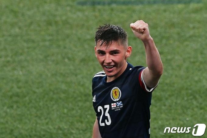 스코틀랜드 대표팀 빌리 길모어. © AFP=뉴스1