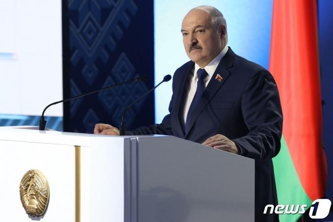 알렉산드르 루카셴코 벨라루스 대통령. © AFP=뉴스1 자료 사진