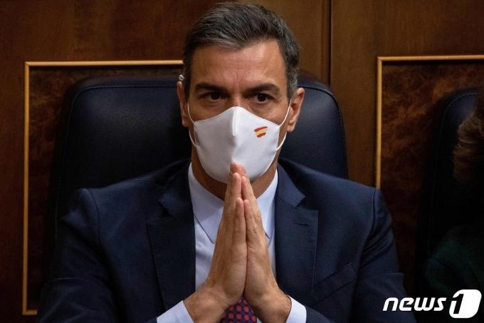 페드로 산체스 스페인 총리. © AFP=뉴스1 자료 사진