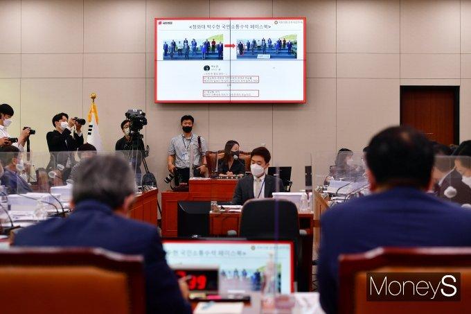 [머니S포토] 국회 외통위, 청와대 페이스북 논란 질의