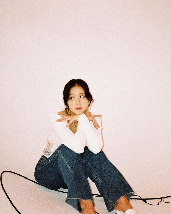 블랙핑크 지수, 완벽한 미모 '심쿵 청순美'