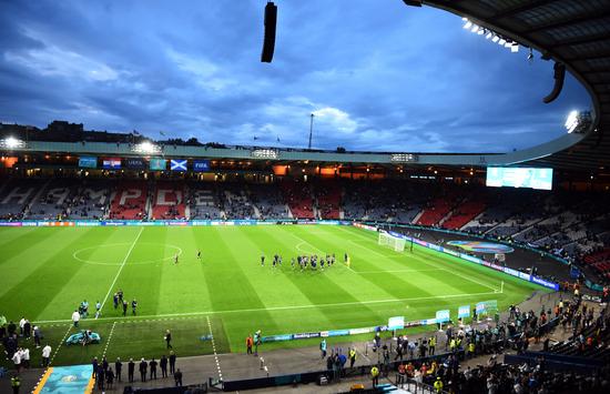 크로아티아가 23일 오전(한국시각) 스코틀랜드 글래스고 햄든파크에서 열린 스코틀랜드와의 유로 2020 조별라운드 D조 3차전에서 3-1로 승리해 16강 진출을 확정했다. /사진=로이터