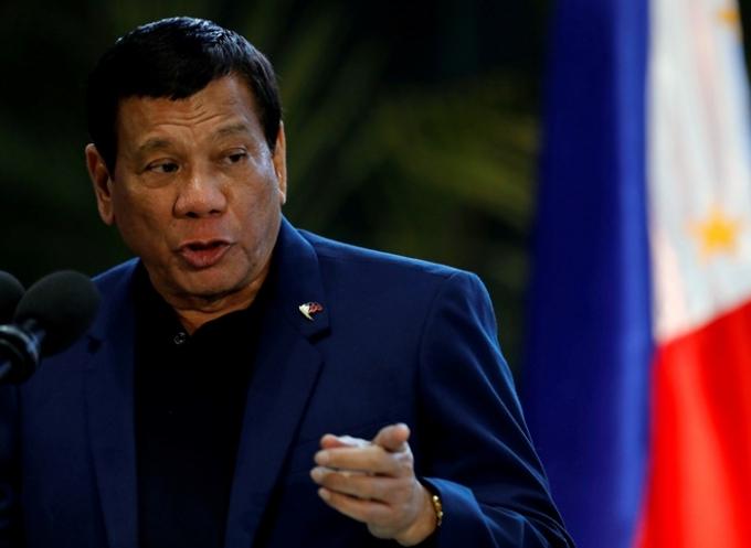로드리고 두테르테 필리핀 대통령이 국민들에게 코로나19 백신을 접종하지 않으면 감옥에 보내겠다고 경고했다. /사진=로이터