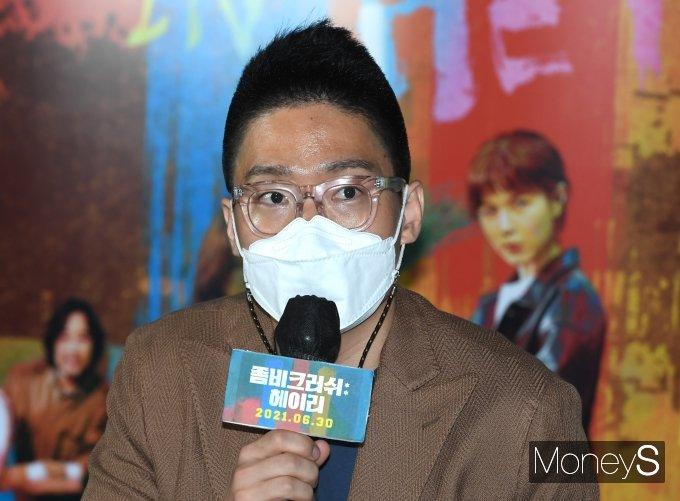 [머니S포토] 영화 '좀비크러쉬: 헤이리' 연출한 장현상 감독