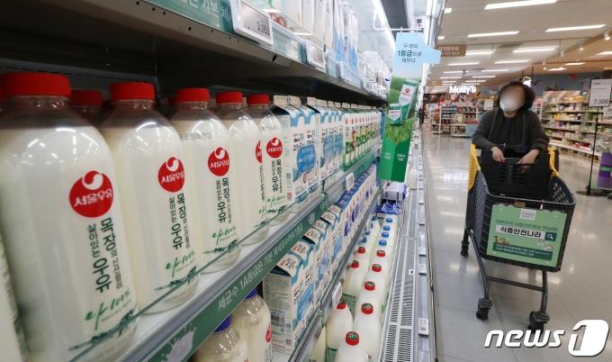우유 원재료인 원유값이 8월1일부터 인상될 예정이다. /사진=뉴스1