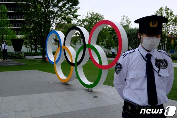 일본을 방문한 우간다 선수단에서 코로나19 추가 확진자가 발생했다. © AFP=뉴스1