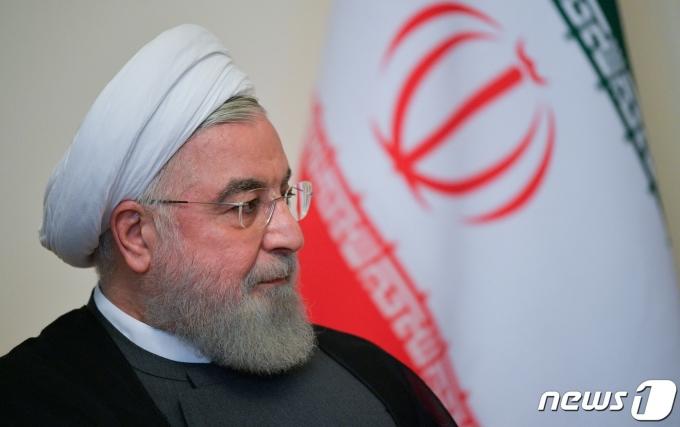 하산 로하니 이란 대통령. © 로이터=뉴스1