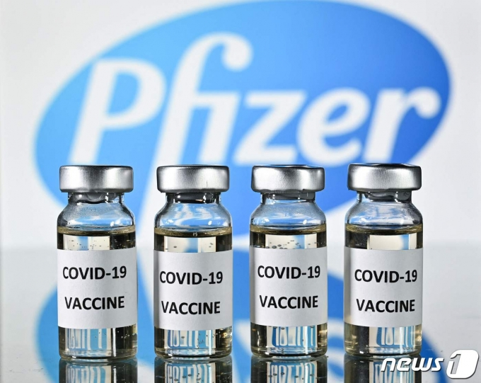 화이자의 코로나19 백신. © AFP=뉴스1