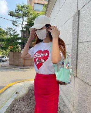 """'한재석♥' 박솔미, 강렬한 등원룩… """"역시 연예인 엄마"""""""