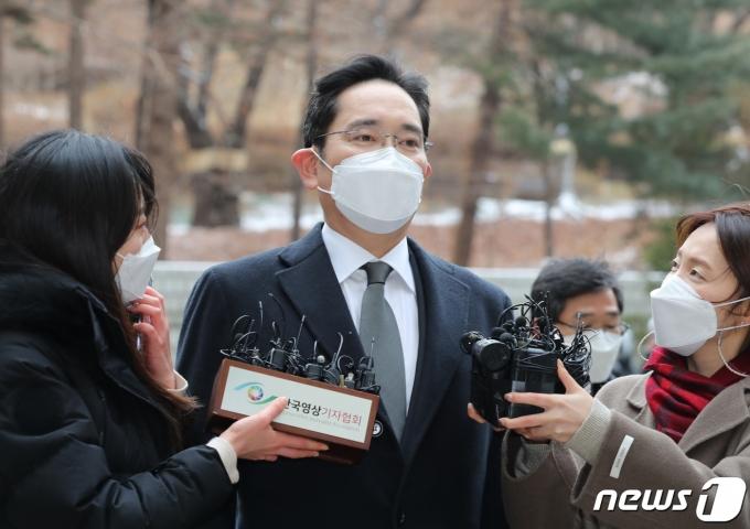이재용 삼성전자 부회장2021.1.18/뉴스1 © News1 박지혜 기자