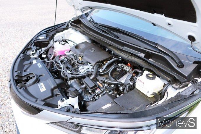 시에나 하이브리드는 2.5ℓ 가솔린 엔진과 전기모터가 조합된 하이브리드 시스템을 탑재했다. /사진=박찬규 기자