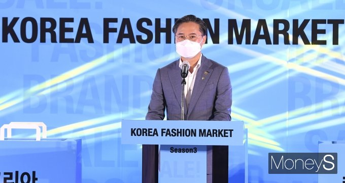 """[머니S포토] 박진규 """"코리아 패션마켓 구경 오세요"""""""