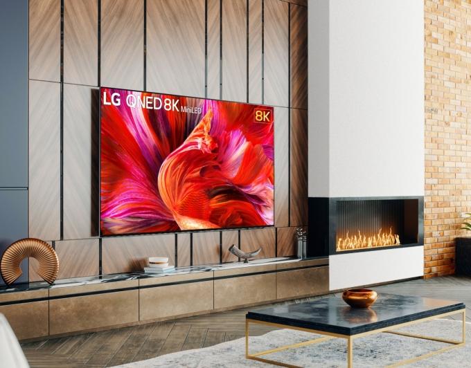 LG전자가 'LG QNED 미니LED' TV를 출시했다. / 사진=LG전자