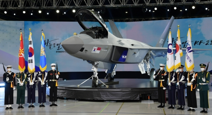 한국형 전투기 KF-21 '보라매' 개발업체인 KAI(한국항공우주산업)의 내부 전산망이 최근 해킹 피해를 당한 것으로 알려졌다. /사진=뉴시스