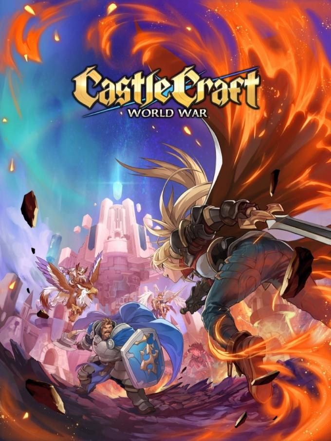 크래프톤의 독립스튜디오 라이징윙스(이하 '라이징윙스')가 올해 출시를 목표로 개발 중인 실시간 전략 게임 '캐슬 크래프트'(Castle Craft: World War)를 5일 첫 공개했다. /사진제공=크래프톤