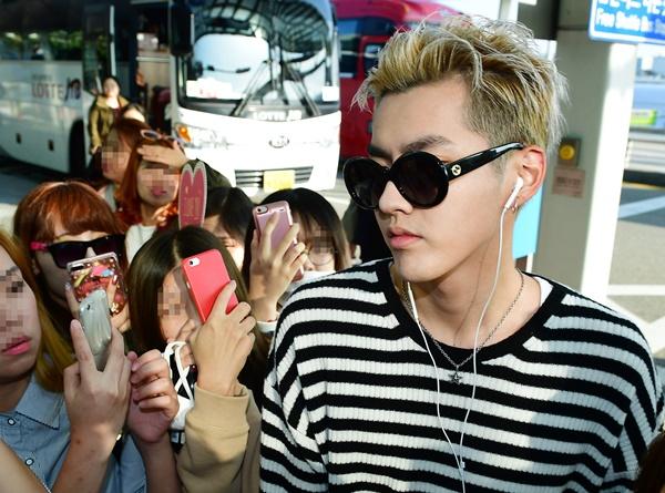 그룹 '엑소'의 전 멤버 크리스(중국 활동명 우이판)가 미성년자 성폭행 의혹에 휩싸였다. /사진=뉴스1