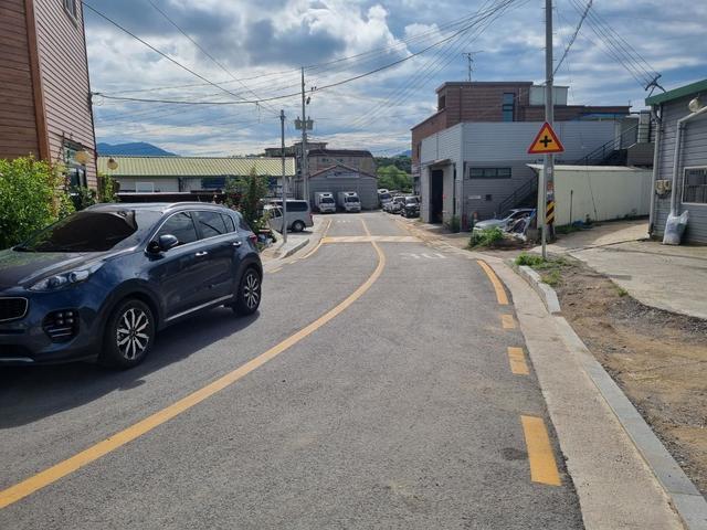 최근 개통한 하남시 초이로126번길 도로. / 사진제공=하남시