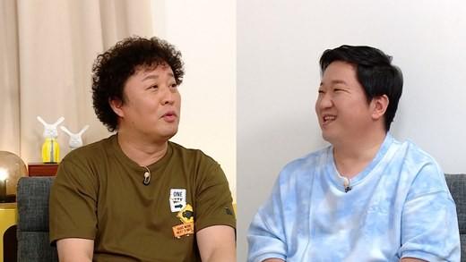 정준하와 정형돈이 MBC '무한도전'(이하 '무도') 이후 방송에서의 첫만남을 가졌다. /사진=MBC 제공