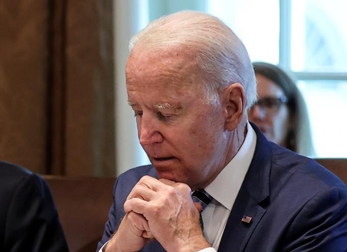 미국 백악관과 의회에서 코로나19 돌파 감염 사레가 나왔다. 사진은 조 바이든 미국 대통령. /사진=로이터