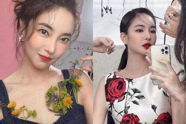 김윤지가 9월 결혼을 앞두고 물오른 미모를 뽐냈다. /사진=김윤지 인스타그램