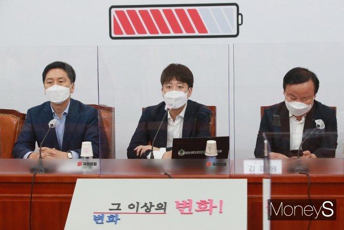 """[머니S포토] 이준석 """"여당, 김경수 희생양 처럼 묘사…위험한 메시지"""""""