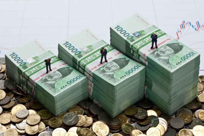 지난해 국내 가구의 순 자산은 5억1220만원으로 추산됐다./사진=이미지투데이