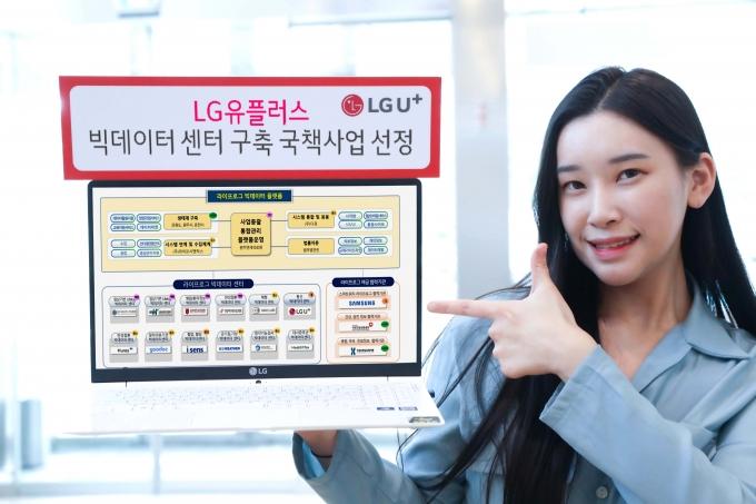 LGU+가 정부 데이터댐 구축 사업에서 라이프로그 분야 빅데이터를 맡는다. /사진제공=LGU+