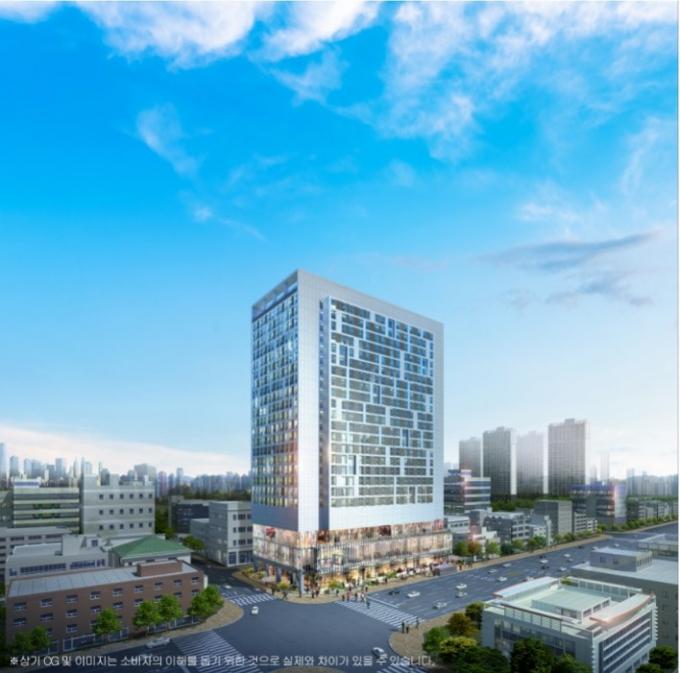 '오창 센트럴허브' 생활형 숙박시설 1064실 공급