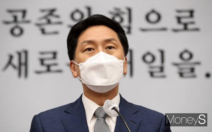 """[머니S포토] 김기현 """"청해부대 집단감염 국정조사 필요하다"""""""