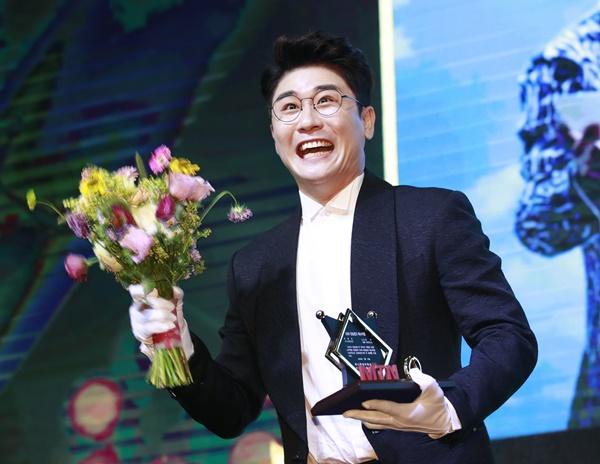 영탁이 지난해 7월 서울 영등포구 글래드호텔에서 열린 MTN '제12회 2020방송광고페스티벌'에 참석했다. /사진=뉴스1