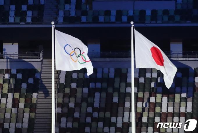 [사진] 빈 관중석과 도쿄올림픽